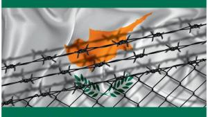 Plakat Geteilte Insel im vereinten Europa: Zypern und seine Mauern